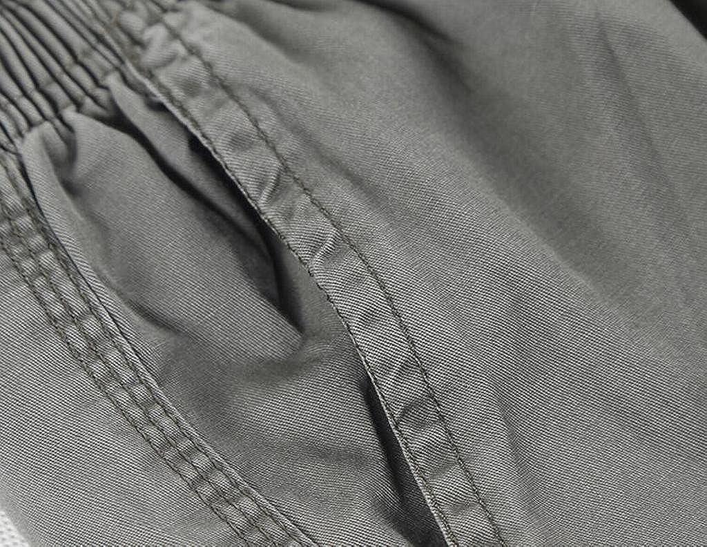 Fubotevic Mens Big /& Tall Plus Size Cotton Casual Drawstring Drawstring Cargo Pants