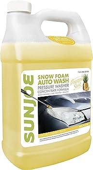Sun Joe Snow Foam Cannon Pressure Washer Detergent