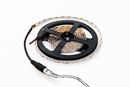 Amazon hitlights cool white led light strip 5000k smd 3528 hitlights cool white led light strip 5000k smd 3528 300 leds 164 mozeypictures Image collections