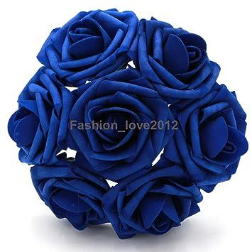 Amazon 50 Pcs Artificial Flowers Foam Roses Various Colors For