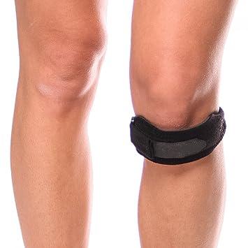 e8ebae7822 BraceAbility Kids Knee Band | Child Osgood Schlatter Strap for Jumpers Knee,  Patella Tendonitis,