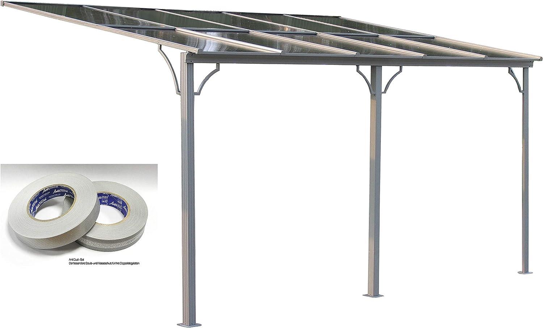 Grasekamp Verona - Techo para terraza (450 x 300 cm, con Banda de Filtro Antipolvo, planchas de Doble Puente de policarbonato): Amazon.es: Juguetes y juegos