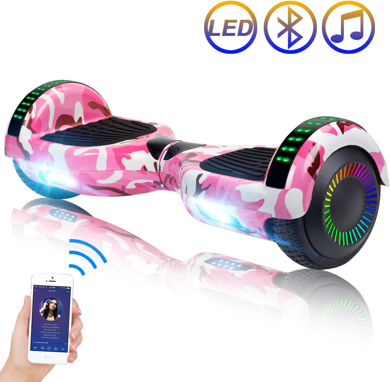Top 18 Best Hoverboard For Kids (2020 Reviews & Buying Guide) 15