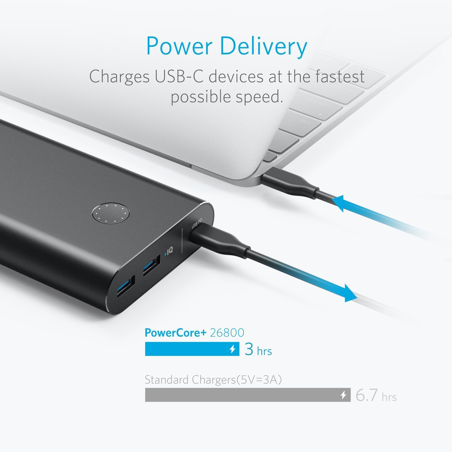 Anker Powercore 26800 Pd With 27w Portable Charger Aluminum Quick Charge 30 Black A1374011 Shell Copper Electronics