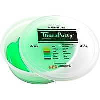 CanDo TheraPutty - Masilla para ejercicio, Verde: Medio, 4 Ounce (Pack of 1)