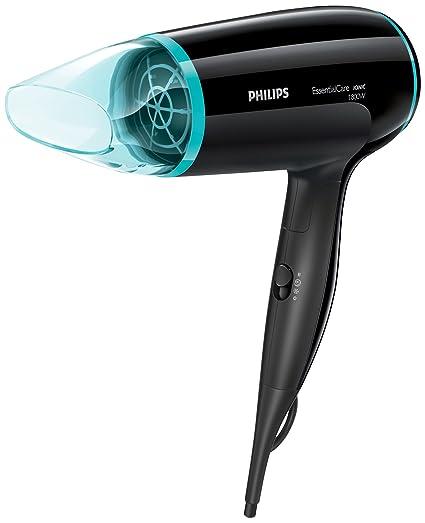 Philips Essential Care BHD007/00 secador Negro, Azul 1800 W - Secador de pelo