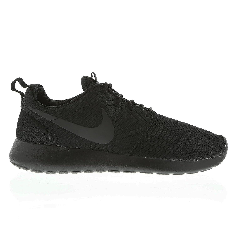 Nike Rosherun 511881 Herren Low-Top Sneaker  41 EU|Schwarz (Schwarz / Schwarz)