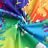 3aa93d80481 Leapparel Teens 3D Print Romper Graphic Colourful Tie-Dyed Jumpsuits Zip Up One  Piece Short Sleeve Rompers Overalls 90s Clothing XXL
