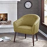 Camilla Barrel Back Accent Chair Green See below