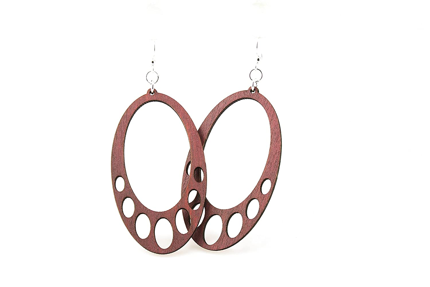 Ovals Hanging Earrings