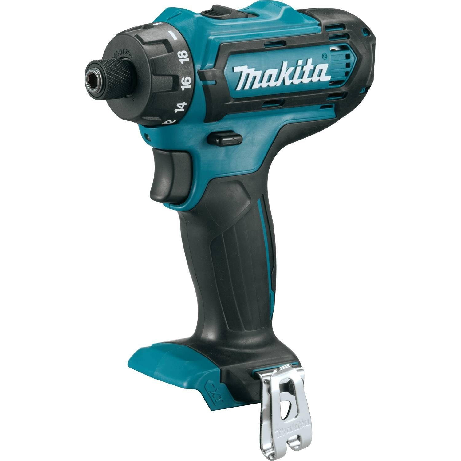 Makita FD06Z 12V max CXT Lithium-Ion Cordless 1/4'' Hex Driver-Drill, Tool Only