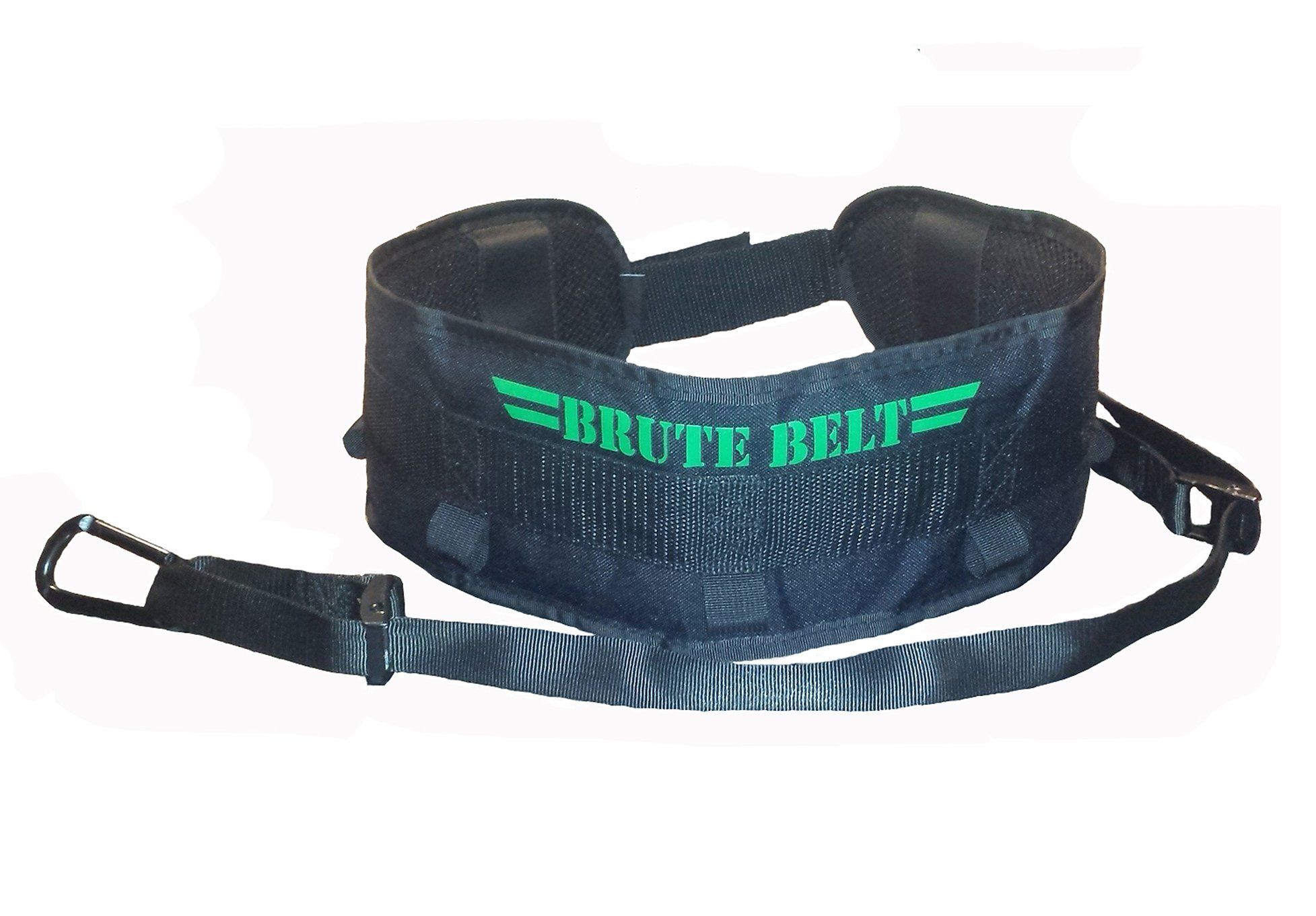 Brute Belt - Nylon Dip Pullup Squat Belt (Black, Small)
