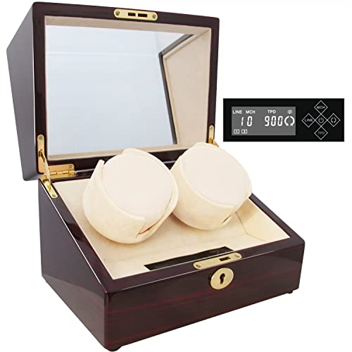 CHIYODA Handmade Wood Double Watch Winder