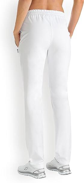 CLINIC DRESS Damen Schlupfhose Weiß weiß: