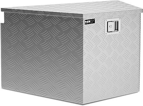 MSW Caja De Herramientas De Aluminio Cofre Estriado MSW-ATB-830 (Grosor del material: 1,3 mm, 82 x 48 x 46 cm, Volumen de 150 Litros): Amazon.es: Bricolaje y herramientas