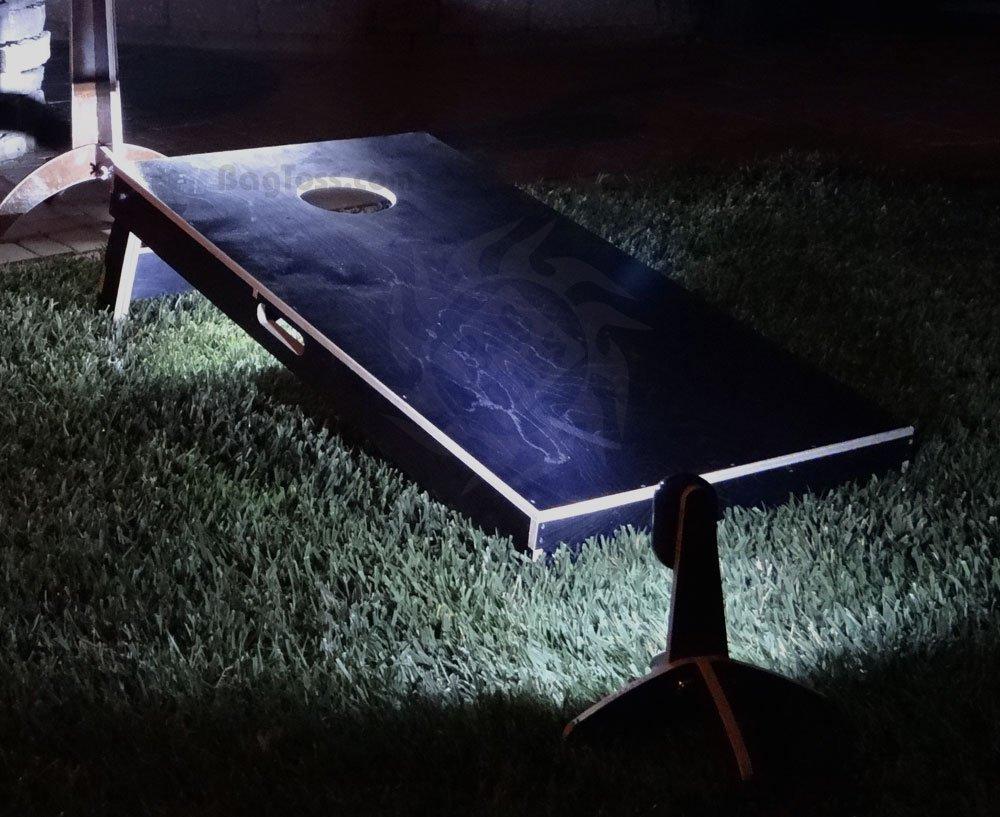 Advanced Cornhole Light Night Kit(2 Hole Lights, 2 Light Pods) (Heritage Light Pod)