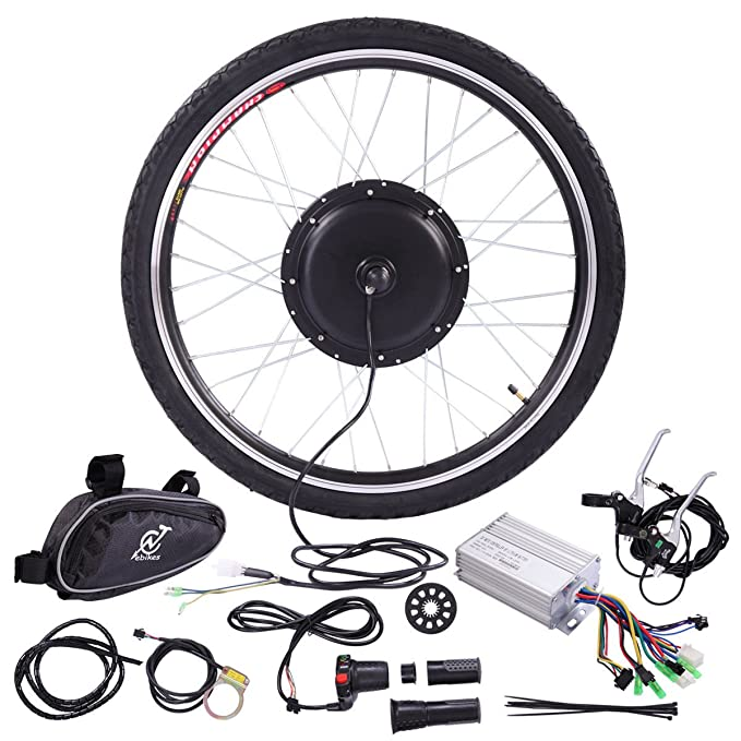 Best ebike Conversion Kit: JAXPETY 36V 500W Ebike Hub Motor Conversion Kit