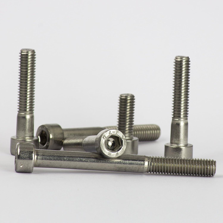 Tornillos opiol Quality 10 | Acero Inoxidable A2/cabeza Cilindro Acero Inoxidable de culata Tornillos Cil/índricos Hex/ágono Interior DIN 912/