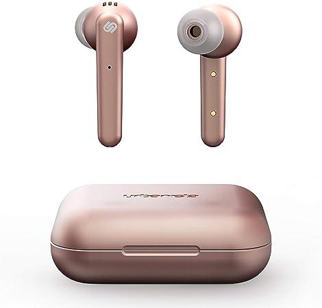 Oferta amazon: Urbanista True Wireless Auriculares Paris 20h de reproducción, Estuche de Carga inalámbrico, Bluetooth 5.0 Controles táctiles + micrófono Incorporado Compatible con Android e iOS - Rosa