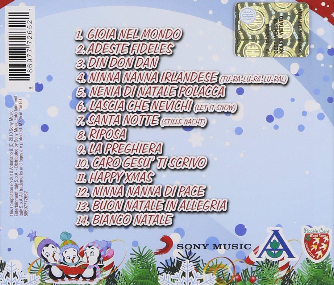 Canzoni Di Natale Zecchino D Oro.Canti Di Natale
