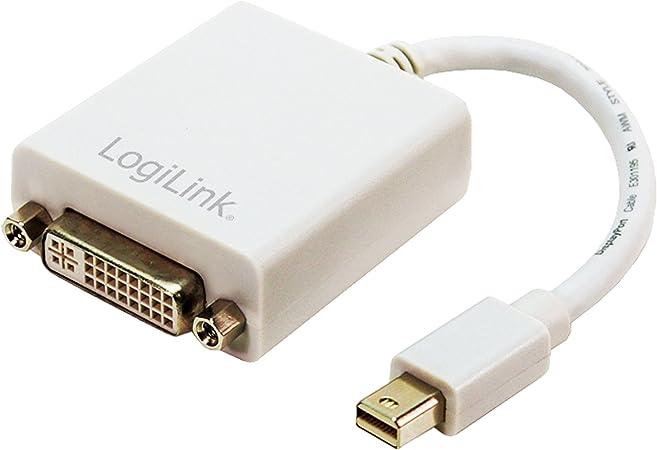Logilink Mini Displayport Male To Dvi Female Converter Computer Zubehör