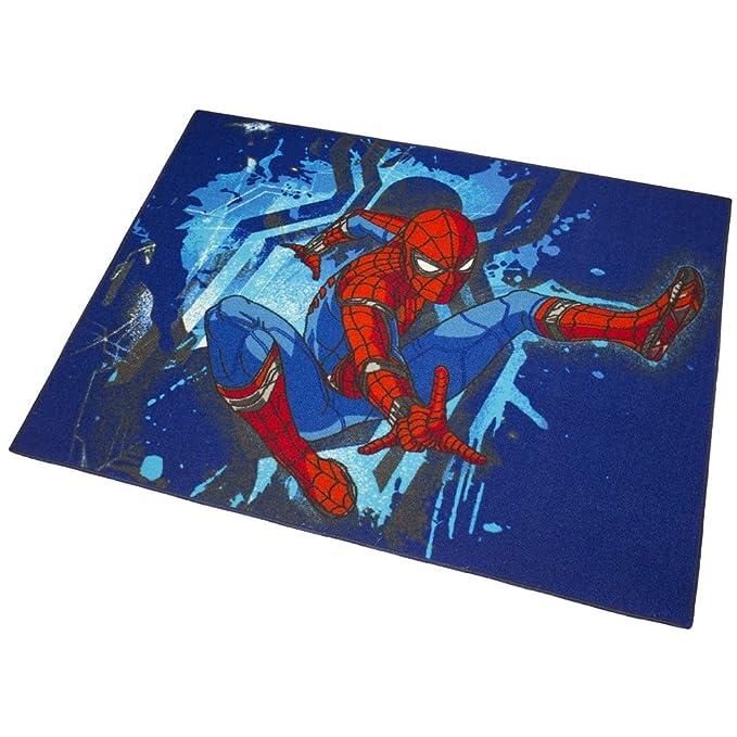 Alfombra Infantil Spiderman 133 x 95cm Disney Acción: Amazon.es: Hogar