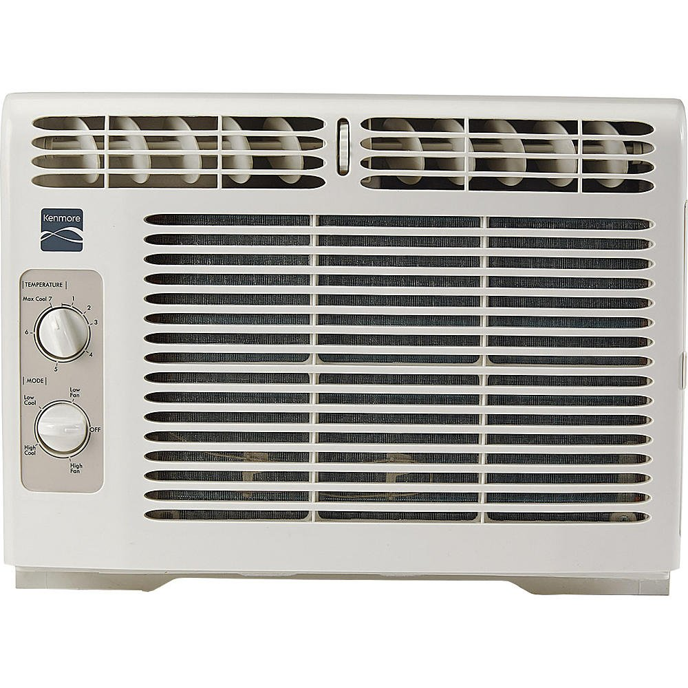 Kenmore 5 000 BTU Window-Mounted Mini-Compact Air Conditioner - White 87050