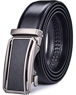 "Belt Buckle * Automatic Lock Men/'s belt Comfort Click 38/"" Leather Dress Belt"