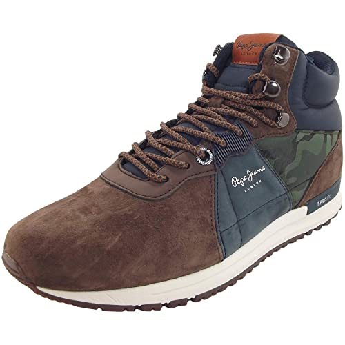 81b930cc8fe Botas Hombre Pepe Jeans Tinker Pro BOTÍN MARRÓN Kaki PMS30490  Amazon.es   Zapatos y complementos