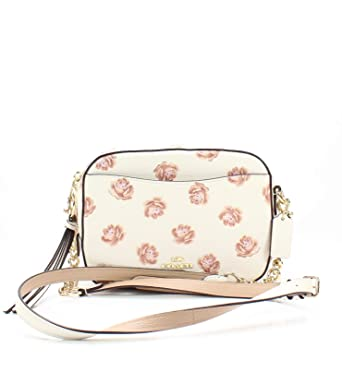 4ab896f123d COACH Womens Camera Bag in Floral Printed Leather