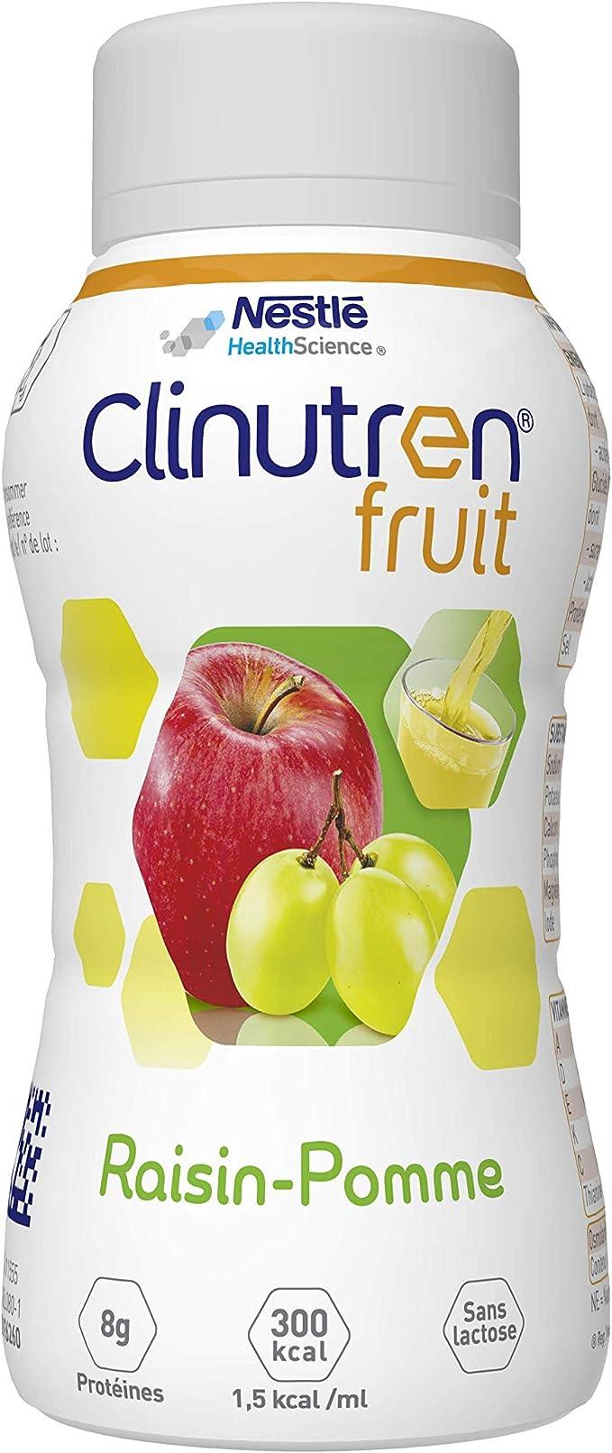 Nestlé Clinutren Fruit manzana Raisin Mezcla de proteína