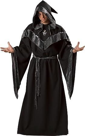 Disfraz Brujo oscuro hombre Premium M: Amazon.es: Juguetes y juegos