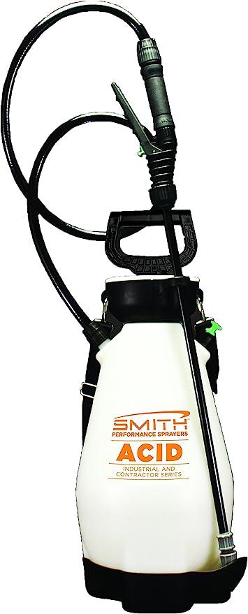 Amazon Com Smith Performance Sprayers 190449 Smith Performance 2 Gallon Specifically Designed 2 Gallon Sprayer For Acids Garden Outdoor