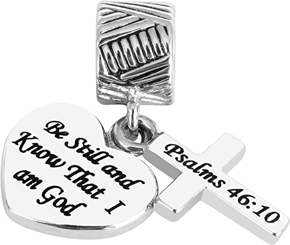 10 bible Tibetan silver Jewellery Crafts Cards Favors Charm Bracelet