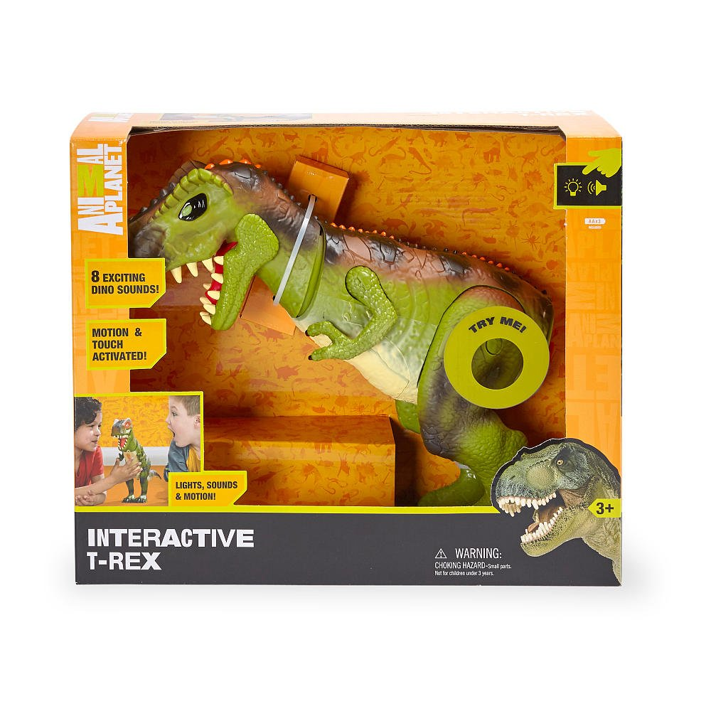 Animal Planet Interactive T-Rex Toys R Us