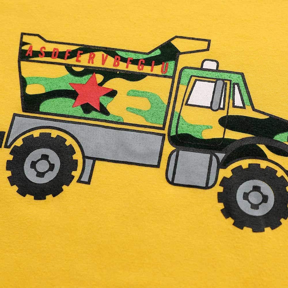 Mbby Tute Ragazzo 1-6Anni Ragazzi Bambino Set Maglietta Pantaloni Stampe Auto Cotone Caldo Tute 2 Pezzi Fumetto Outfits Natalizi Natalizio