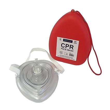 Qualicare Máscara de reanimación PCR reutilizable para ...