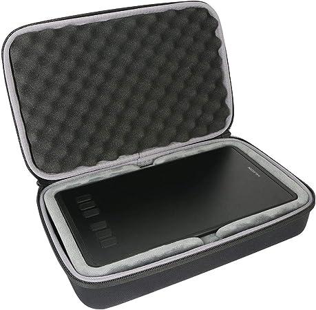 8192 Navitech Purple Graphics Tablet Case//Bag Compatible with The HUION New 1060 Plus