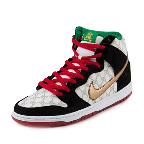 pretty nice e809d 061d7 Nike Dunk High Premium SB 'Paid in Full' Black Sheep - White ...