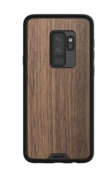 e7959344554 Amazon.com: Mous Protective Samsung Galaxy S9+ Plus Case - Real Walnut Wood  - Screen Protector Inc.: Cell Phones & Accessories