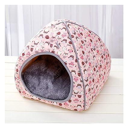 TYXCFR Casa De La Camada De Gatos Casa Cerrada Casa De Gato Plegable Suministros para Mascotas