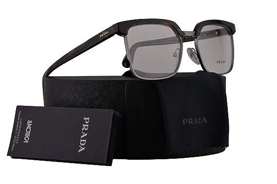 e2e87c8bf3c Amazon.com  Prada Journal PR15SV Eyeglasses 54-18-145 Havana w Demo ...