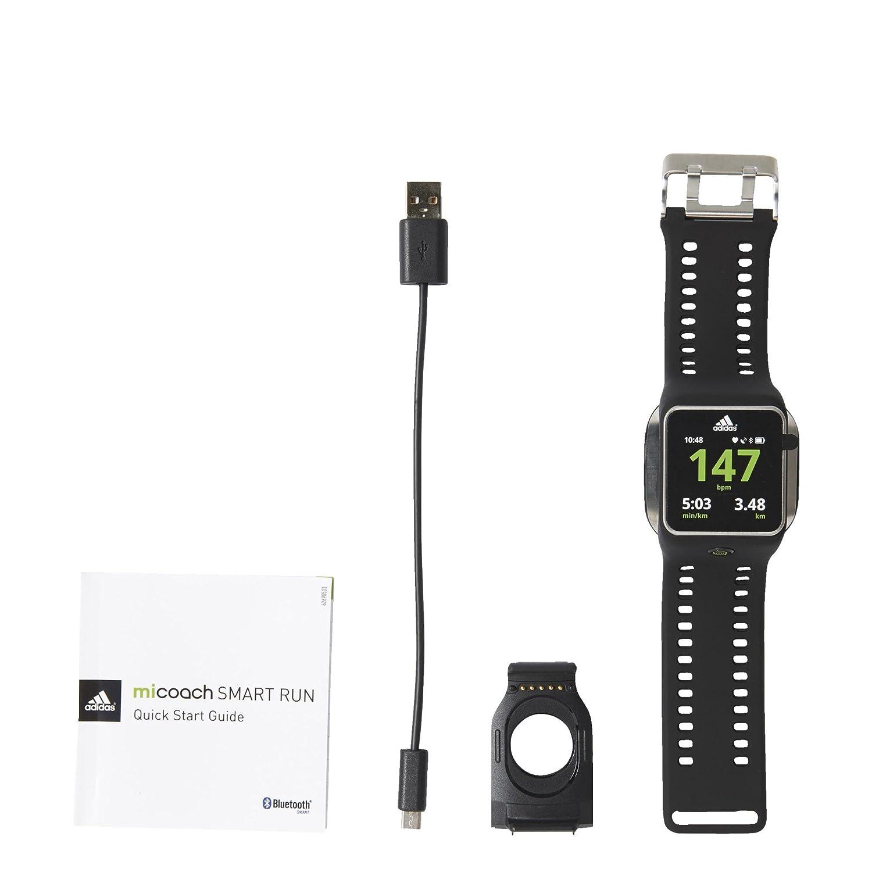Discriminación Doméstico perrito  Buy adidas Smart Run Watch (Black) Online at Low Prices in India - Amazon.in