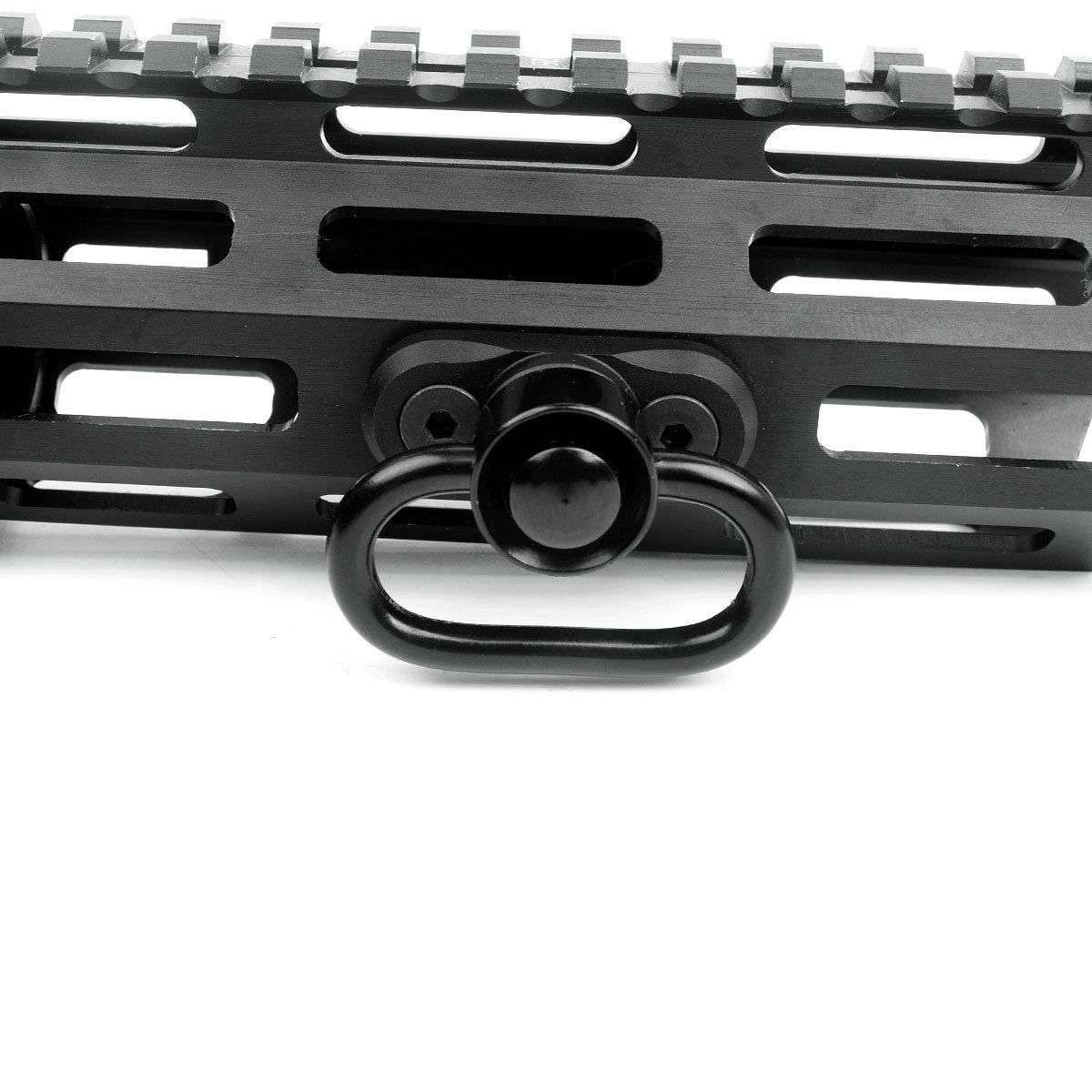 CRUSHUNT M-lok QD Sling Mount Sling Swivel 1.25 inch Adapter Attachment M lok Hand-Guard Set by CRUSHUNT (Image #2)