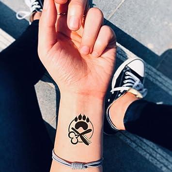 Tatuaje Temporal de Perro Gato Aseo (2 Piezas) - www.ohmytat.com ...