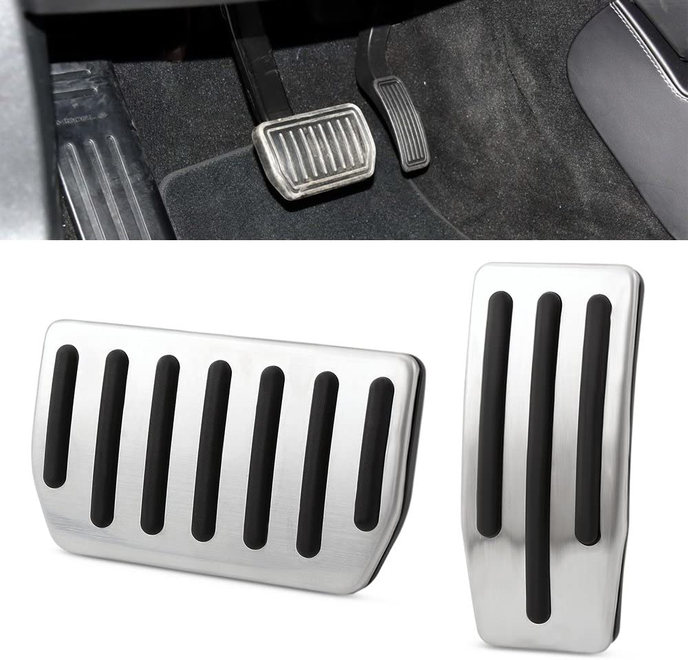 Antislip Gas /& Brake Pedals Foot Pedals Model 3 9 MOON Pedal Covers Pads fit Tesla Model 3 Accessories