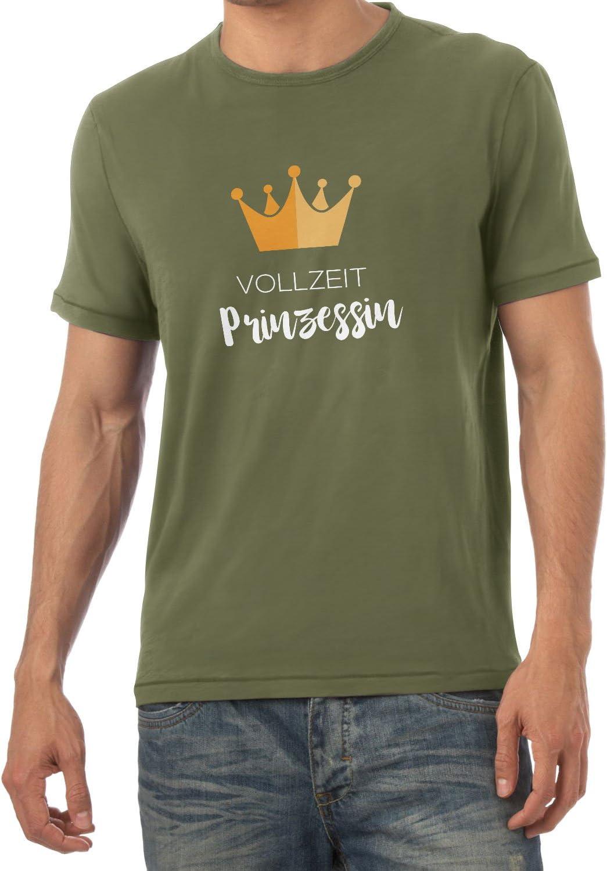 Herren T-Shirt NERDO Vollzeit Prinzessin