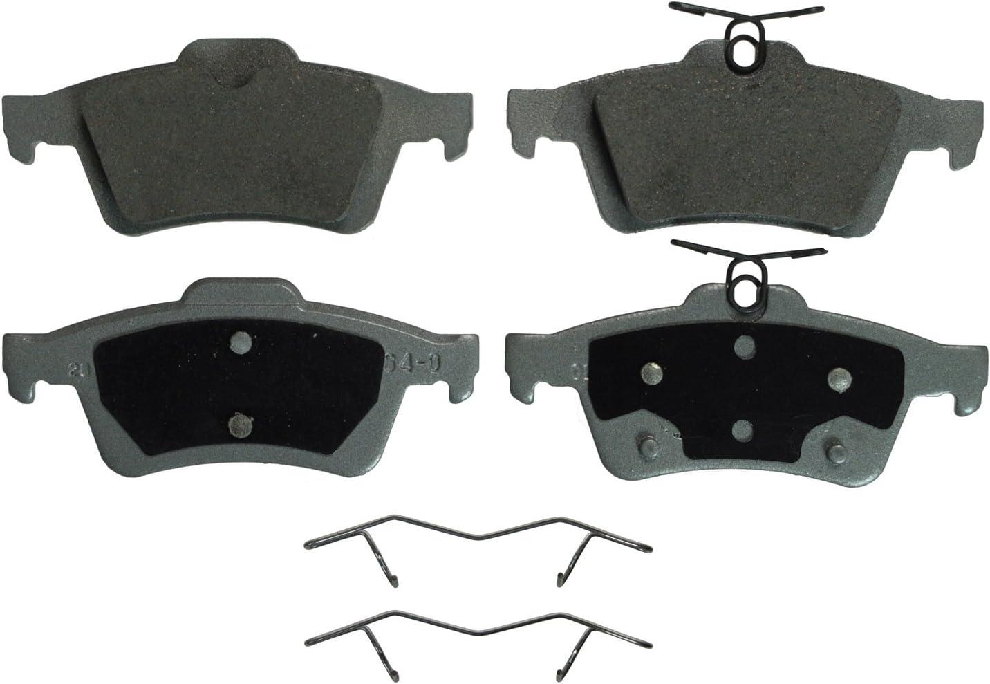 Disc Brake Pad Set-ThermoQuiet Disc Brake Pad Rear Wagner QC974