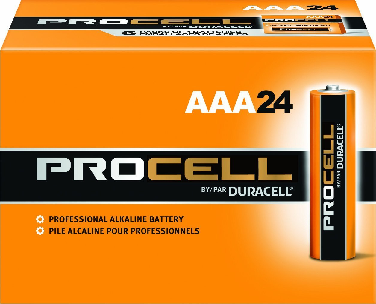 Duracell New Value Size Package Procell 120 Count New Super Size Package (Size-AAA)