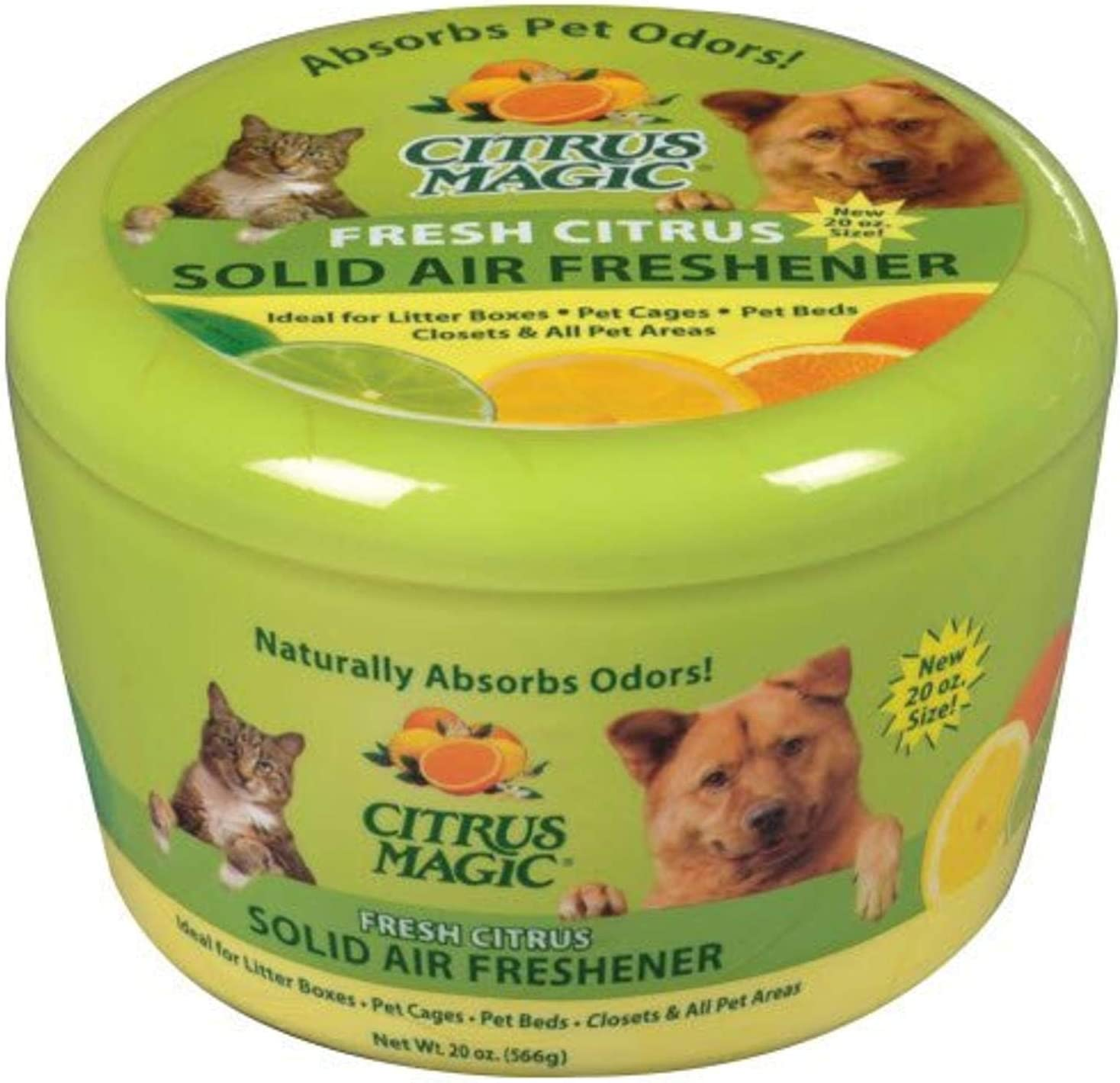 Citrus Magic Pet Odor Absorbing Solid Air Freshener